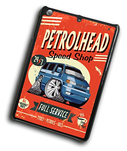 Koolart Petrolhead Speed Shop VW T4 Transporter Van cover rigida per iPad Mini Generation 1 2 & 3