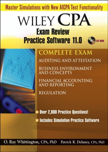 Wiley CPA Examination Review. Practice Software 11.0