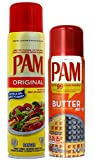 PAM Cooking spray mix of 2 or 3 (Original & Butter)