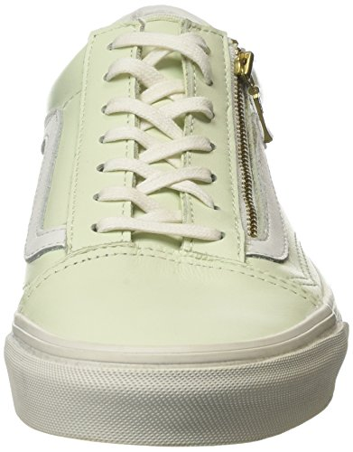 Vans Old Skool Zip, Sneakers basses mixte adulte Vert (mlx)