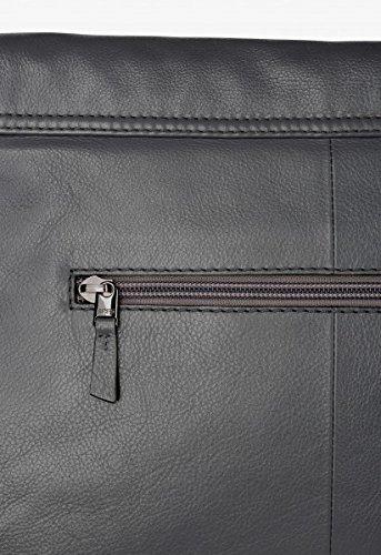 BREE , Borsa Messenger  grigio ardesia 37 cm x 25cm x 13cm (BxHxT) ardesia