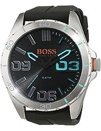 Boss Orange de Hombre Reloj de pulsera Berlin analógico de cuarzo silicona 1513380
