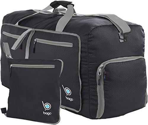 Bago Duffle Bag For Travel Luggage Gym Sport Camping - Lightweight Foldable  Into Itself Duffel 27 591012b601