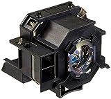 Supermait EP42 Lámpara de Repuesto para proyector con Carcasa, Compatible con Epson Elplp42, Adecuada para EMP-83C / EMP-83 / EMP-822H / EMP-822 / EMP-410We / EMP-410W / EX90 / PowerLite 400W / 410W