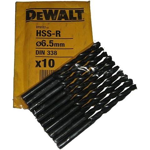 DeWalt dt5127-qz HSS-R de acero rápido HSS Bit, 3.5mm (12unidades)