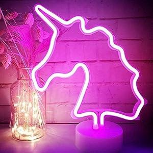 XIYUNTE Unicornio Señales luminosas neón
