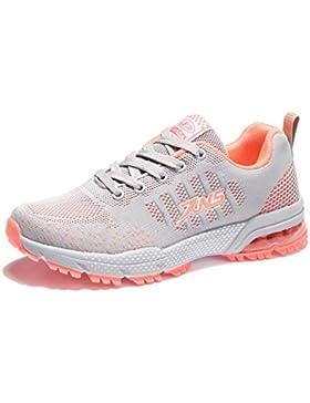 ZanYeing Damen Herren Sportschuhe Ultra Leichte Laufschuhe Rutschfeste Sneakers Mädchen Junge Schuhe mit Dämpfung...