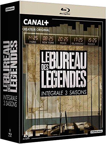 Le Bureau des légendes - Saisons 1 à 3 [Blu-ray]