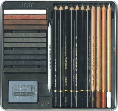 KOH-I-NOOR–h8899–College Art Set lápices Gioconda (11)