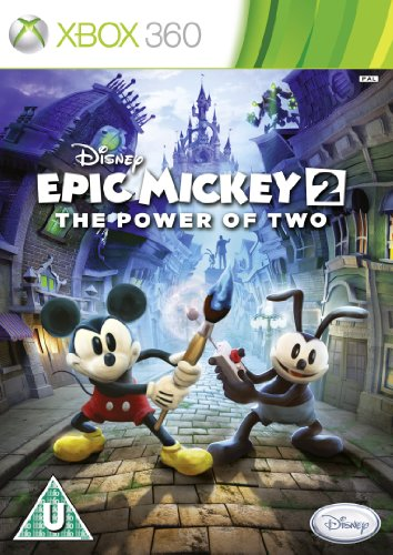 NEW & SEALED! Disney Epic Mickey The Power Of 2 Microsoft XBox 360 Game UK PAL
