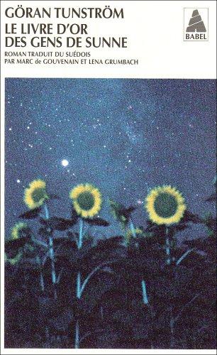 Le livre d'or des gens de Sunne par Goran Tunstrom