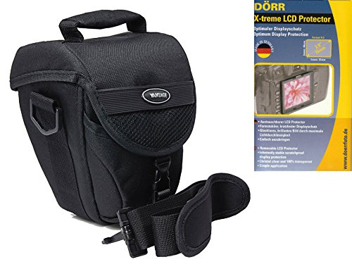 Foto Kamera Tasche COLT VANTAGE Set mit LCD Protector Folie 3 Zoll