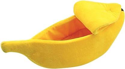 Pet Supplies Haustierbett Creative Banana Nest Katzenstreu Hundehütte Teddy Bär Nest