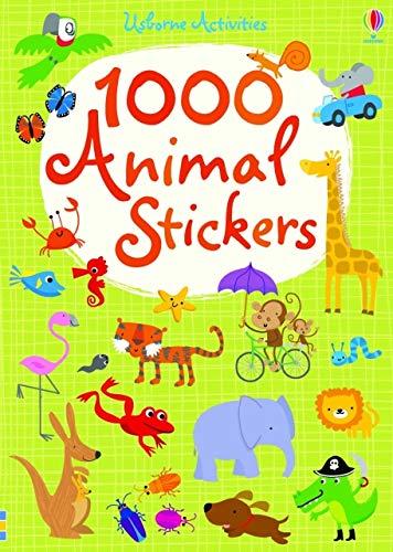 1000 Animal Stickers (1000 Stickers)