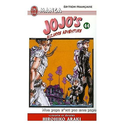 Jojo's Bizarre Adventure, Tome 44 : Mon papa n'est pas mon papa