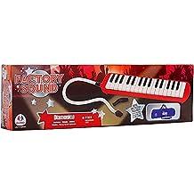 Globo Toys Globo–37453Factory sonido 32-keys Blow órgano con funda