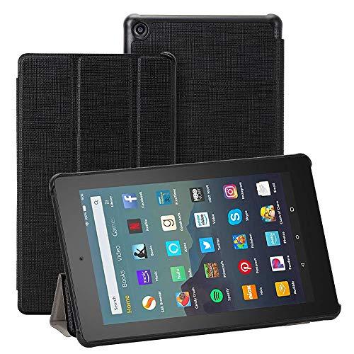 """Foluu - Funda para Tablet Amazon Fire 7 (9ª generación, Lanzamiento 2019), Delgada, Ligera, con función Atril y función de Atril Inteligente, de Poliuretano, para Tablet Fire 7 2019 de 7"""""""