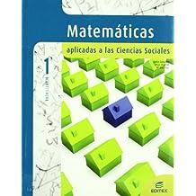 Matemáticas aplicadas a Ciencias Sociales 1º Bachillerato - 9788497713443