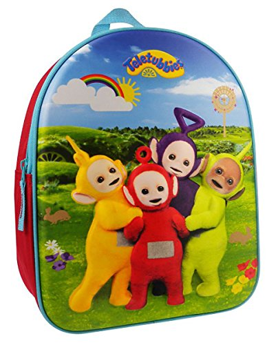 Und Cartoon Nimmerland Die Jack Piraten (Teletubbies 3D Kinder Rucksack)