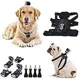 cammate perro arnés cinturón de correa de pecho montaje para GoPro sesión 5/GoPro Hero 5/4/3/2/HD/SJ4000/SJ5000/sj6000Xiaomi yi cámara de acción