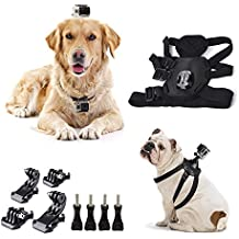 Cammate Dog Harness Cinturón de correa de pecho para GoPro Session 5 / GoPro Hero 5/4/3/2 / HD / SJ4000 / SJ5000 / SJ6000 Xiaomi Yi Action Camera