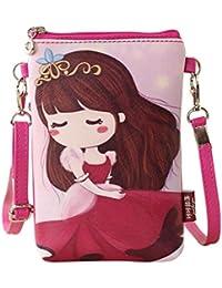 fcostume bolsas de hombro bolsos de la mujer   Cartoon Bolsos niños niñas  Mini Crossbody Bolsa b9e8d409b28