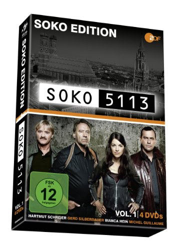 SOKO 5113, Vol. 1 - Soko Edition (4 DVDs)