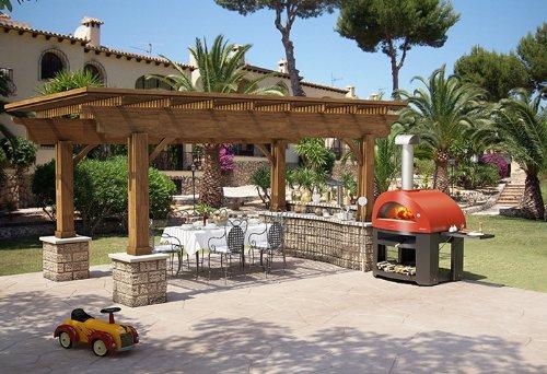 Alfapizza allegro forno a legna per pizza da esterno - Forno per pizza da giardino ...