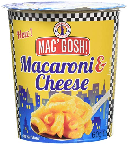 Macgosh Macaroni & Cheese In-The-Pot, Pack of 12