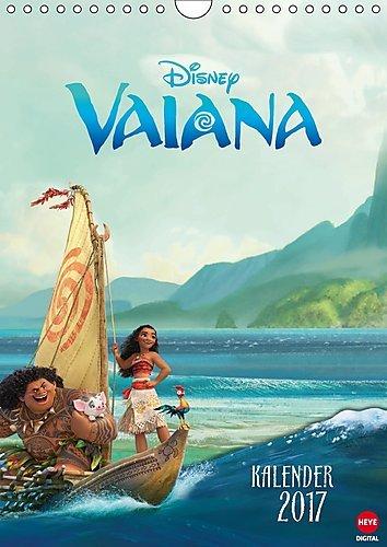Preisvergleich Produktbild Vaiana (Wandkalender 2017 DIN A4 hoch): Das ideale Geschenk für alle Fans des aktuellen Disneyfilms (Monatskalender, 14 Seiten ) (CALVENDO Spass)