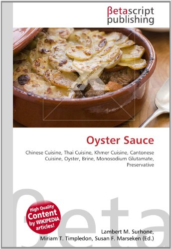 Oyster Sauce por Lambert M Surhone