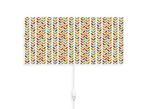 yourdea - Kinderzimmer Wandleuchten Wechsel Bild für IKEA GYLLEN 56cm mit Motiv: Einfache Ranke