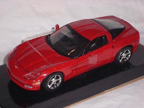 Chevrolet Corvette C6 C 6 Rot Red Coupe 1/24 Motormax Motor Max Modellauto Modell Auto