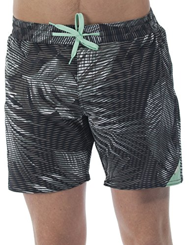 Bench Herren Badeshorts Frequency Schwarz (Jet Black BK014) XX-Large