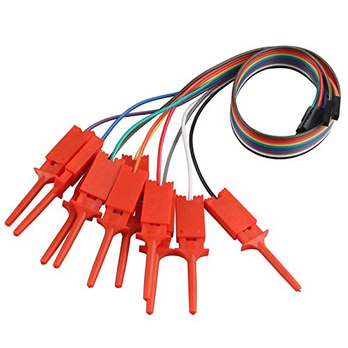 Haljia 10pcs Dupont hilo USB Analizador lógico Prueba