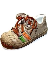 Cherie - Zapatos de cordones de Piel para niña beige beige 24