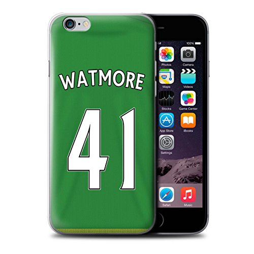 Offiziell Sunderland AFC Hülle / Case für Apple iPhone 6+/Plus 5.5 / Pack 24pcs Muster / SAFC Trikot Away 15/16 Kollektion Watmore