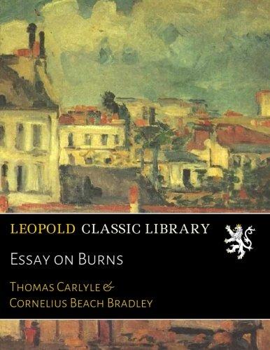 Essay on Burns por Thomas Carlyle