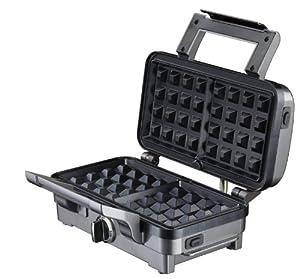 Cuisinart GR10E - Sandwichera (1000 W, Aluminio, Acero inoxidable) de Cuisinart