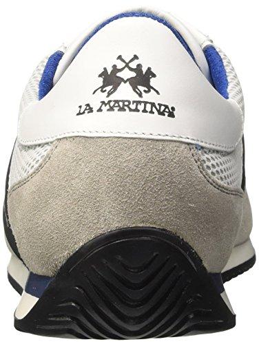 La Martina Herren Sneaker Bianco (White)