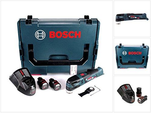 Bosch GOP 12V-28 Professional Akku Multi Cutter Brushless mit Starlock in L-Boxx + 2x GBA 2,5 Ah Akku + GAL 1230 CV Ladegerät