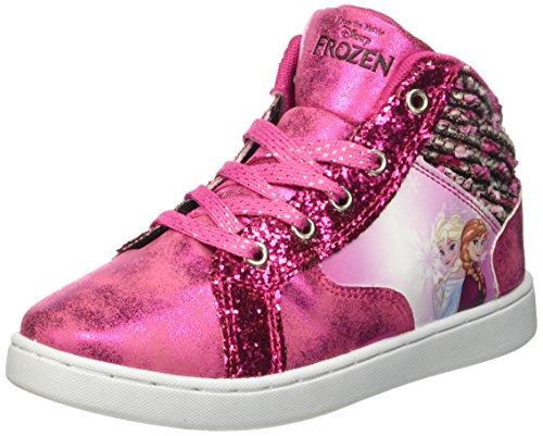 Walt Disney Sneaker, Scarpe a Collo Alto Bambine e Ragazze, Rosa (Fucsia), 32 EU