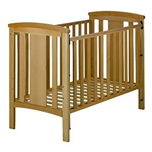 East Coast Katie Dropside Cot (Beech) babybay Made of solid wood Comes with the locking clip Fit for maxi and box spring co-sleeper cot 7