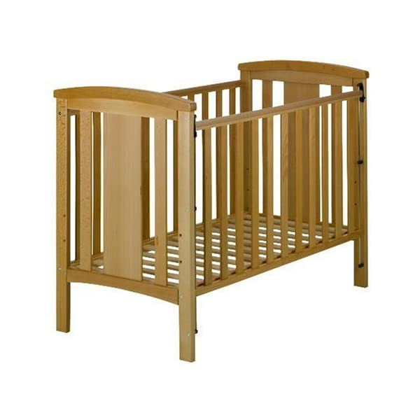 East Coast Katie Dropside Cot (Beech) East Coast Nursery Ltd East Coast Katie Cot has drop sides that safely lower for easy access Features two protective teething rails and three adjustable base heights Crafted in beech with a natural finish, delivered flatpacked 1