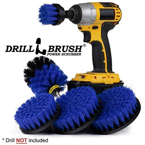 Boat Accessories - Cleaning Supplies - Drill Brush - Boat - Kayak - Canoe - Hull Cleaner - Algae - Barnacles - Carpet Cleaner - Deck Brush - Fiberglass - Aluminum - Spin Brush - Vinyl - Upholstery -