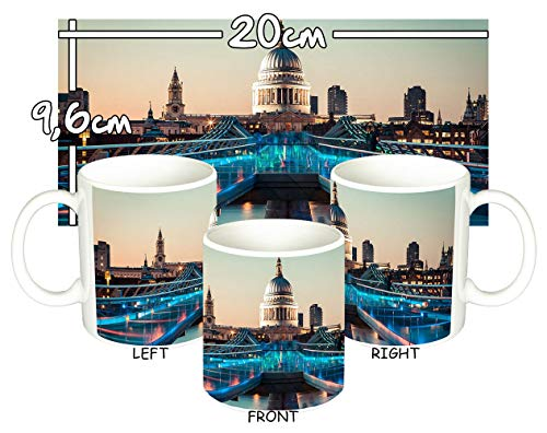 MasTazas Catedral De San Pablo De Londres St Paul's Cathedral London Tasse Mug