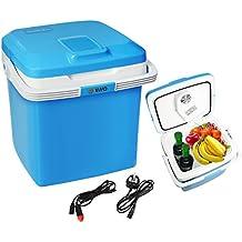 Vivo 26L Electric Coolbox Cooler Hot Cold Portable Cool Box Car Home 240V AC & 12V DC