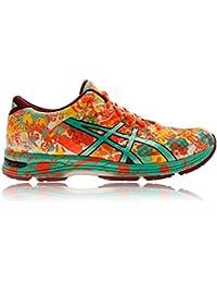 ASICS - Gel-noosa Tri 11, Zapatillas de Running Mujer,  Rosa (Flash Coral/Spring Bud/Sun 0687)