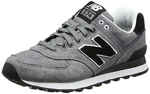 New Balance Damen 574 Textile Sneakers, Grau (Grey), 40 EU
