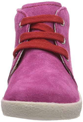 Naturino  FALCOTTO 1195, Baskets premiers pas, bébé Multicolore - Mehrfarbig (FUXIA CUC + LACCI ROSSO)